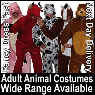 Adult Mens Ladies Animal Fancy Dress Birds Farm Jungle Zoo Wildlife