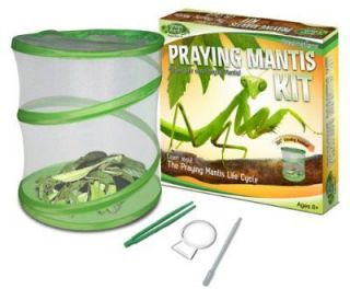 Fascinations Green Earth Praying Mantis Habitat Kit