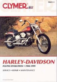 Harley Softail Fatboy Service Manual 1984   1999