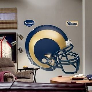 NEW** St. Louis Rams Helmet Fathead 49 Wide X 43 Tall NFL Saint
