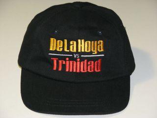 Oscar De La Hoya vs Felix Trinidad Fight of the Millennium Boxing Hat