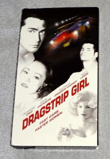 Dragstrip Girl VHS Exploitation Traci Lords Raymond Cruz Mark Dacascos