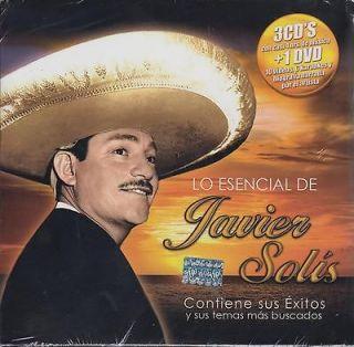 De Javier Solis 3 CD NEW + DVD 78 Songs Sealed! Karaoke Biografia