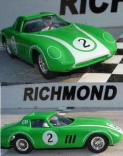Ferrari 250 GTO/LM Custom Built 1/32 Slot Car