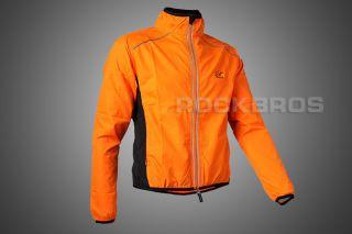 Tour de France,Cycling Coat,Wind Coat,Rain Coat,Long Sleeve, Orange