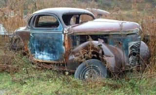 1937 Chrysler Royal Mopar Coupe rat hot rod project