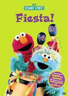 Sesame Street Fiesta Sing Along DVD, 2008