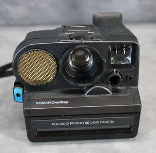 Vintage Polaroid 600 One Step ( Close Up ) Instant Camera( Black