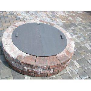 round fire pit cover in Outdoor Cooking & Eating