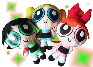 Cartoon Network The Powerpuff Girls Plush Toy Soft 9 Doll Baby Gift