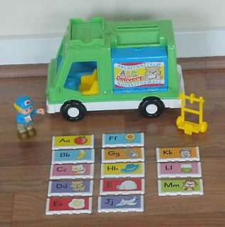 Fisher Price Little People ABC Delivery Mail Truck Sing n Learn
