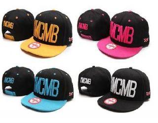 Vintage YMCMB Flat Bill Snapback Baseball HIP HOP Hats Adjustable CAP