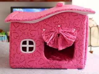 NEW FASHION Super lovely dog house dog supplies RED T​OP QUALITY
