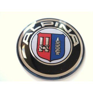 bmw alpina steering wheel logo cap badge emblem cover. Black Bedroom Furniture Sets. Home Design Ideas