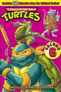 Teenage Mutant Ninja Turtles   Volume 6 DVD, 2006