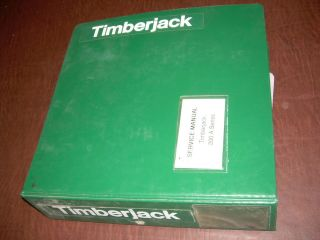 TIMBERJACK SERVICE MANUAL 200 A SKIDDER WORKSHOP