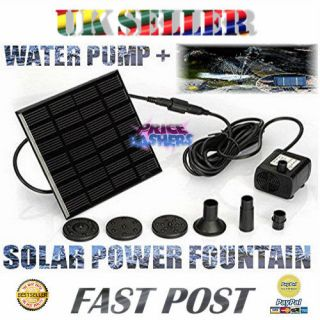 Panel Water Fountain with Water Pump for Ponds & Other Water Features