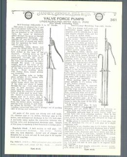 1928 ad McDonalds Windmill Regular Force Water Pumps Hand