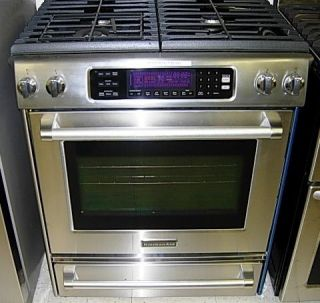 Merveilleux ... KitchenAid Pro Line Gas Range SS Model KGSS907XSP ...