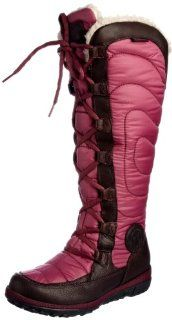 Timberland Womens Crystal Mountain Tall Lace Boot Rain And Snow Boots