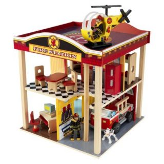 KidKraft New Fire Station Set product details page