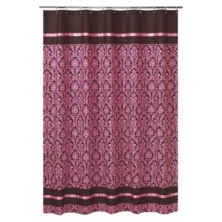 Sweet Jojo Designs Bella Shower Curtain   Pink product details page