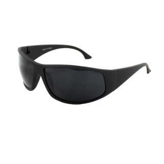 MLC Eyewear Stylish Warp Sunglasses Black Matte Coating