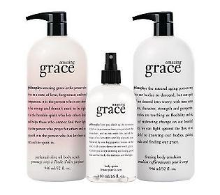 philosophy supersize love your skin fragranced body trio —