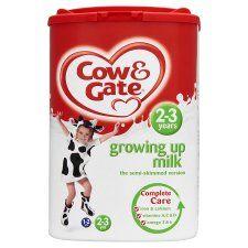 Cow & Gate 2 3 Years Growing Up Milk Powder 800G   Groceries   Tesco