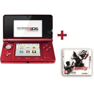 3DS ROUGE METAL + RESIDENT EVIL THE MERCENARIES   Achat / Vente DS 3DS