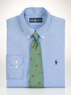 Classic Fit Poplin Stripe   Big & Tall Dress Shirts   RalphLauren