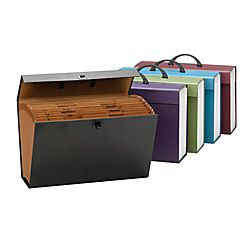 Smead® 65% Recycled A Z And Subject Case File, 19 Pockets, Legal Size