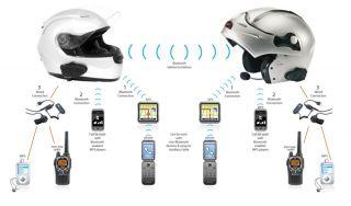 Midland BT2D Bluetooth Intercom System for Motorcycle (Pair)