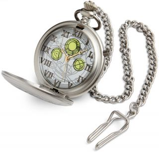 ThinkGeek :: Doctor Who Diecast Masters Pocket Watch