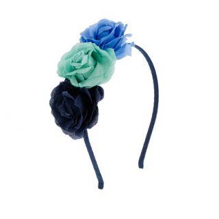 Girls three flowers headband   hair accessories   Girls jewelry