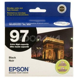 Epson 97 Extra high Capacity Black Ink Cartridge for WorkForce 600 All