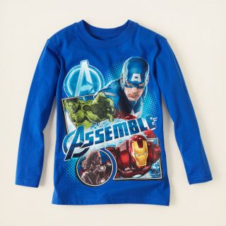 boy   graphic tees   licensed   Avengers Assemble graphic tee