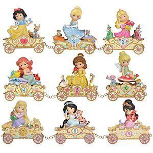 Precious Moments Disney Princess Train Collection  Figurines