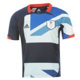 Team GB Football Shirts adidas Team GB Football Home Shirt Junior From