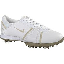 Nike Womens Air Dormie II Golf Shoe (White/Birch)   SportsAuthority