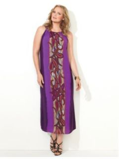 CATHERINES   Paisley Chiffon Maxi Dress