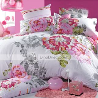 Wholesale Dohia Cotton Flower Printing Bedding Comforter Bed in a Bag