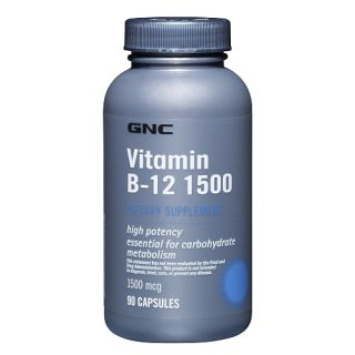 GNC Product Reviews and Ratings     GNC Vitamin B 12 1500 from GNC