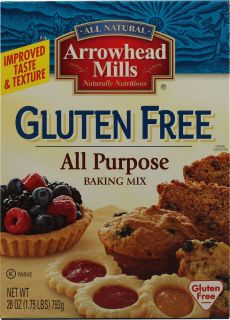 Arrowhead Mills All Purpose Baking Mix Gluten Free    28 oz   Vitacost