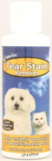NaturVet Tear Stain Remover Topical for Dogs and Cats    4 fl oz
