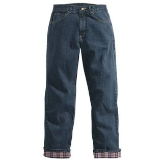 Carhartt Flannel Lined Jeans   Relaxed Fit (For Women)