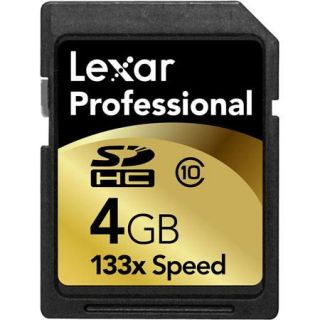 Lexar 4 GB, 133x High Speed Series, Professional Secure Digital High