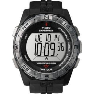 Timex T49851 Mens Black Resin Strap Digital Sport Watch  Meijer