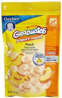 Gerber Graduates Yogurt Melts   Peach