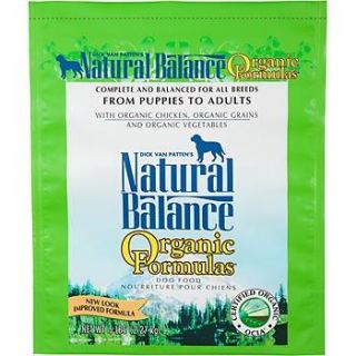 Natural Balance Organic Formulas Dog Food   Organic Dog Food at